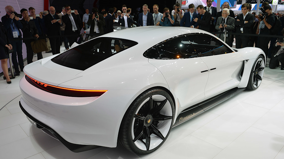 Porsche Wants To Sell Mission E Sedans A Year Autoblog