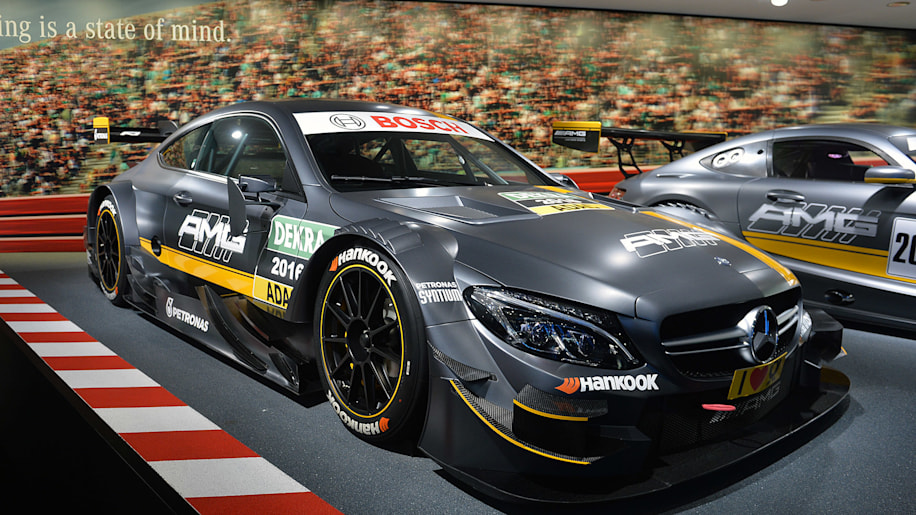 Mercedes-AMG gears up for 2016 DTM with new C63 Coupe