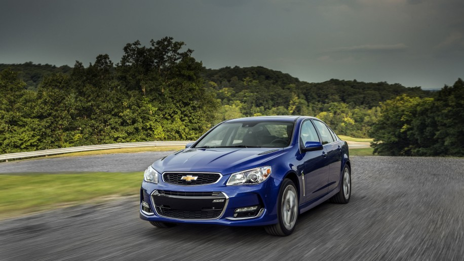 2016 Chevy SS front 3/4