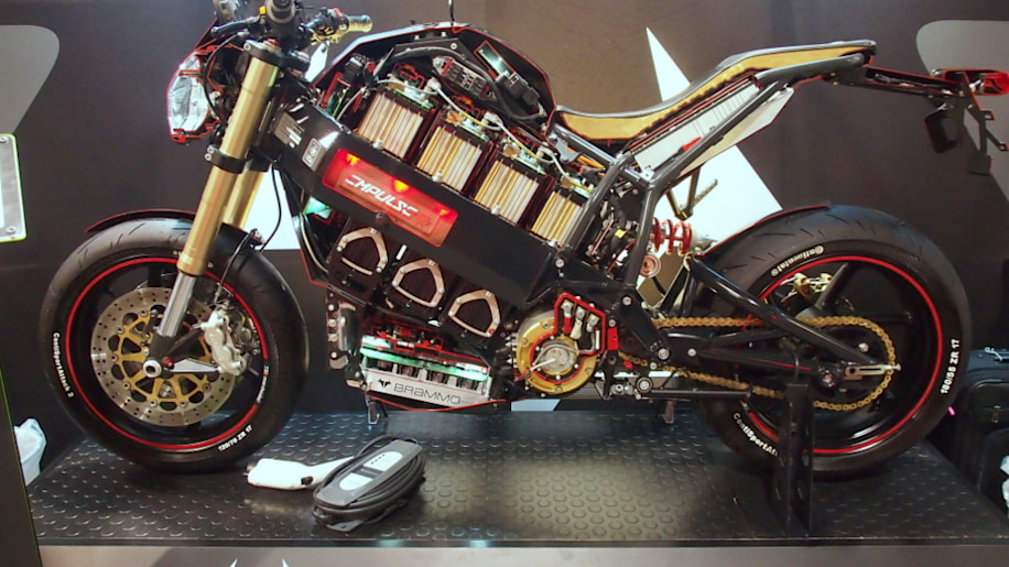 Battery Show 2015: Brammo Empulse Electric Motorcycle