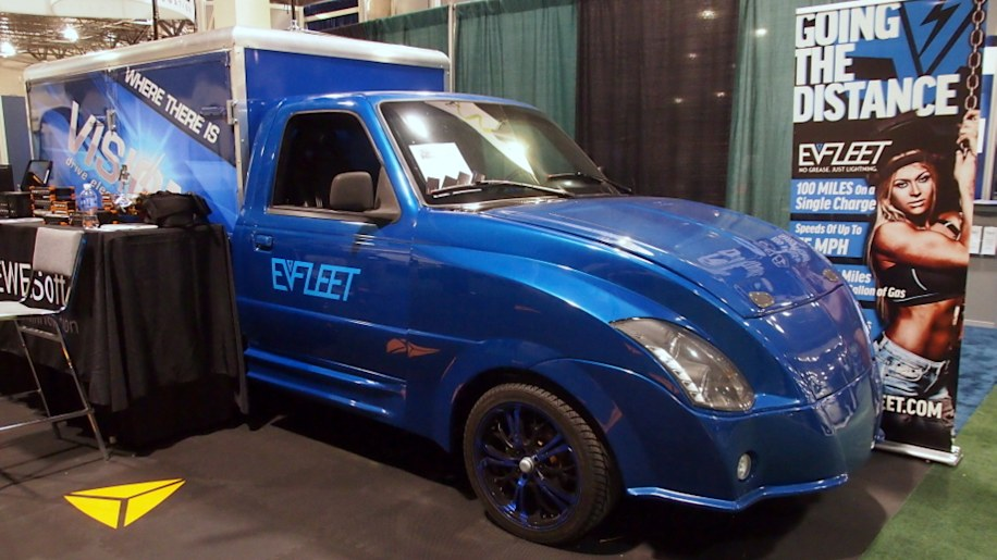 EV Fleet Condor Electric Truck: Battery Show 2015