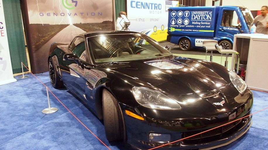 Battery Show 2015: Genovation GXE All-Electric Corvette