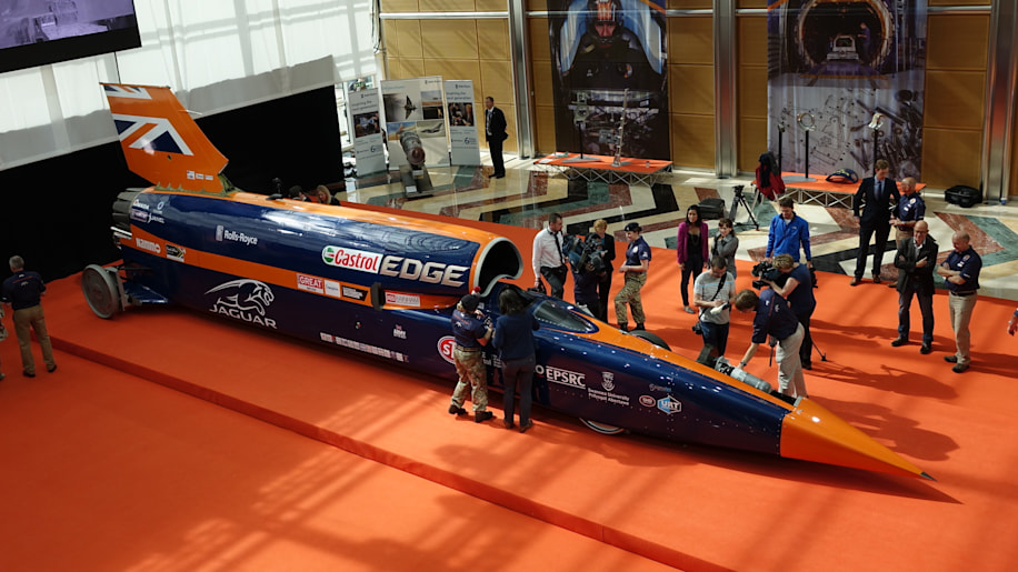 Bloodhound SSC right side