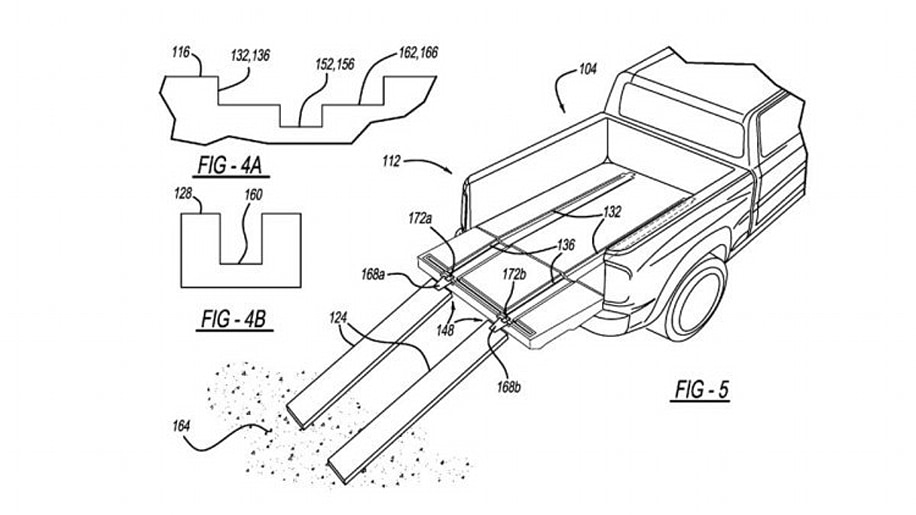 Ram In-Bed Ramp Patent