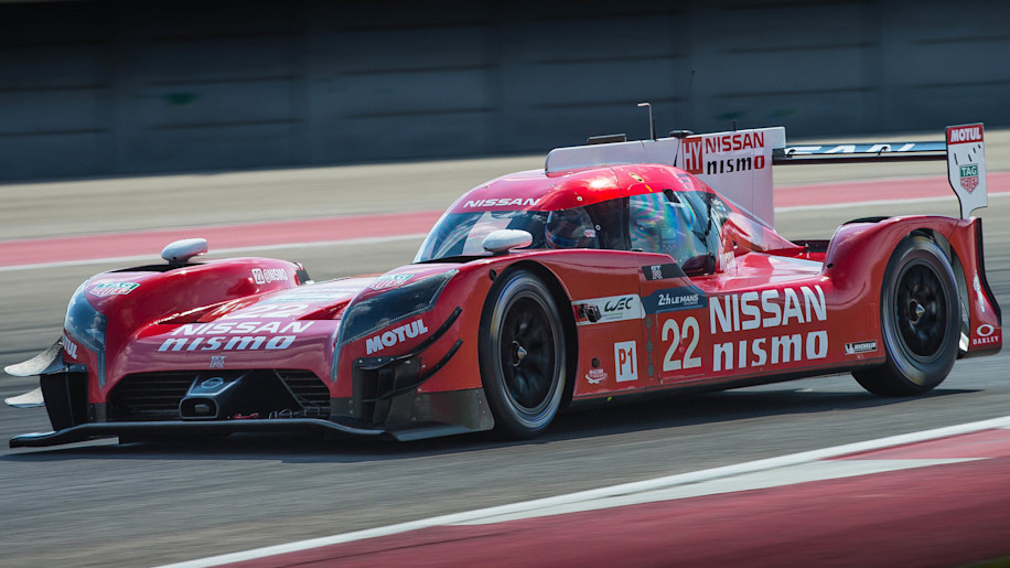Nissan GT-R LM Nismo COTA front 3/4
