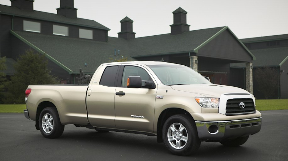 2007 Toyota Tundra gold front