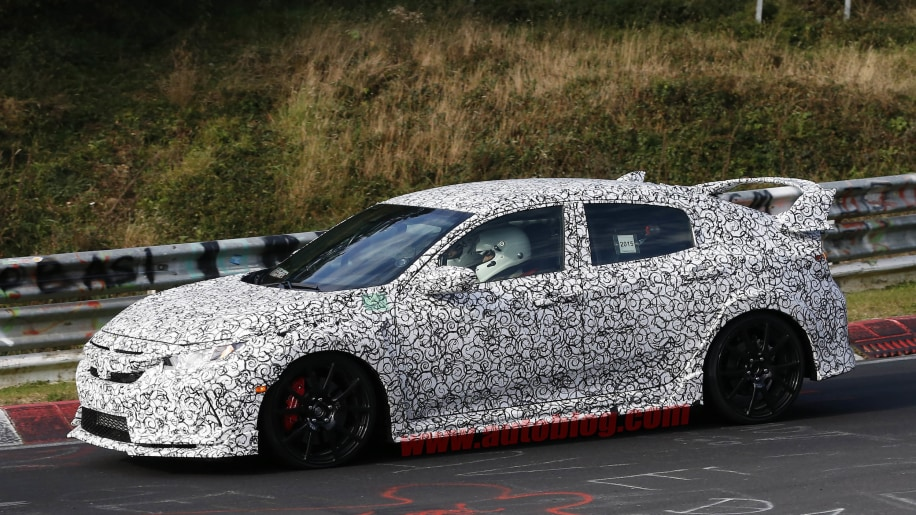 2017 Honda Civic Type R front 3/4
