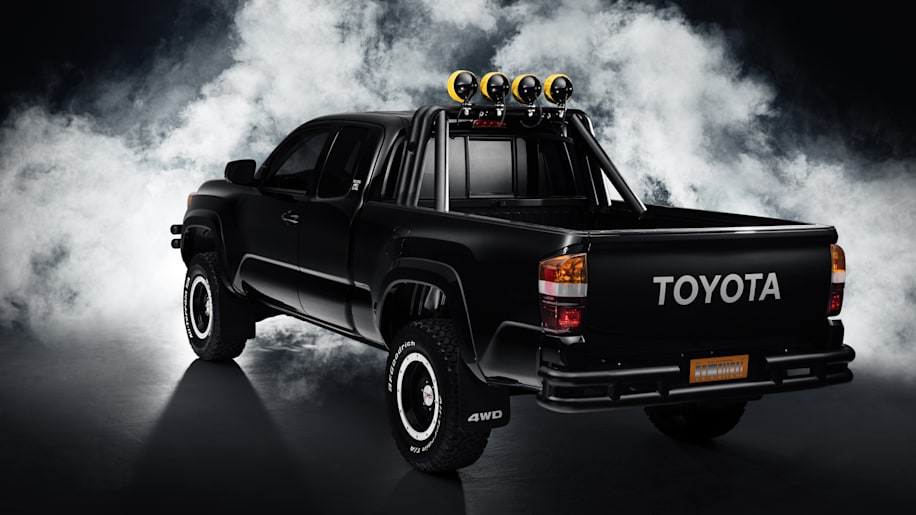 2016 toyota tacoma back to the future concept photo gallery autoblog. Black Bedroom Furniture Sets. Home Design Ideas