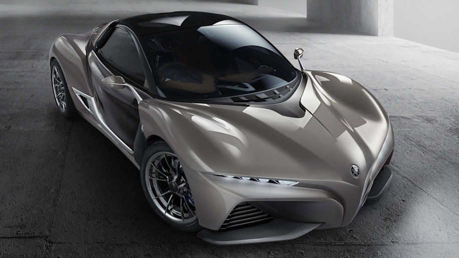 Yamaha Sports Ride concept front 3/4