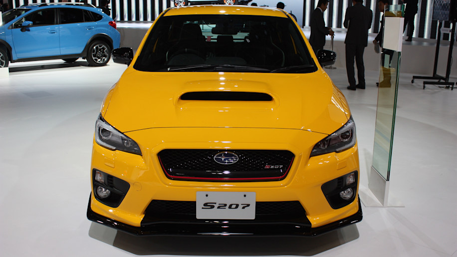 Subaru WRX STI S207 limited to 400 units in Japan only  Autoblog