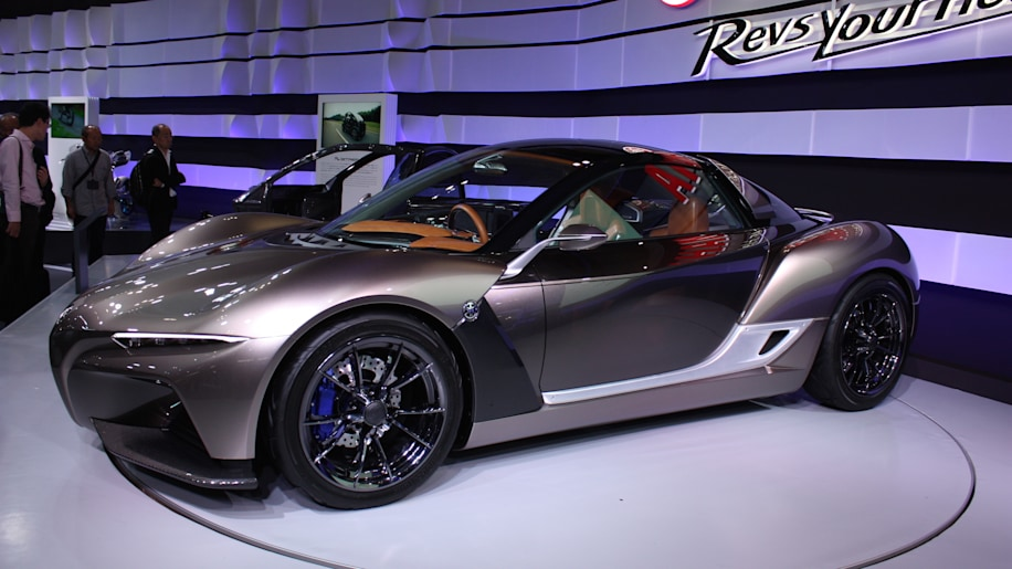 Sports Ride is Yamaha's awesome, lightweight coupe concept