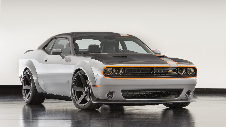 dodge challenger gt awd concept front three quarters