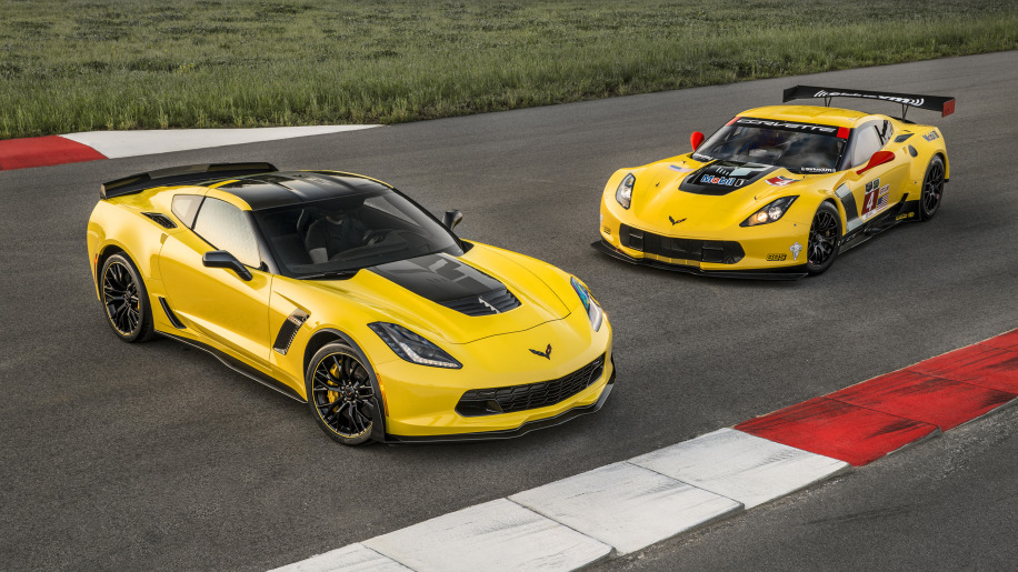2016 Chevy Corvette Z06 C7.R Edition track static