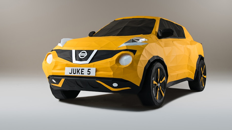 Nissan Juke Origami front 3/4