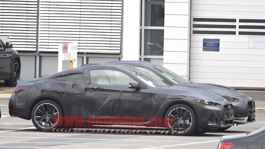 infiniti q60 coupe spy photo two-door