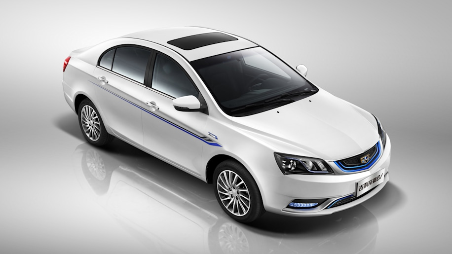Geely Emgrand EV front 3/4
