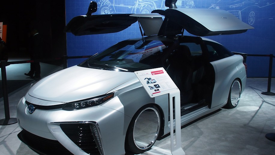 Toyota Mirai Back To The Future Edition: LA 2015