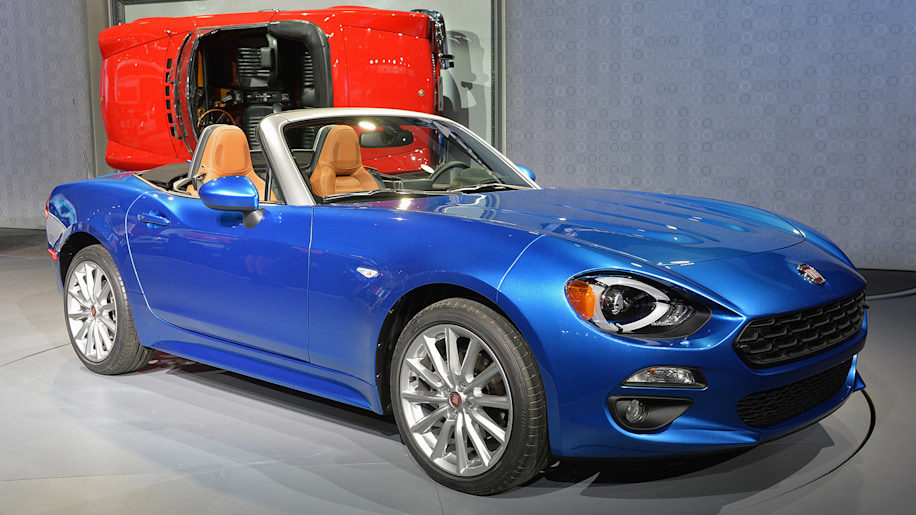 Fiat 124 Spider at the 2015 LA Auto Show