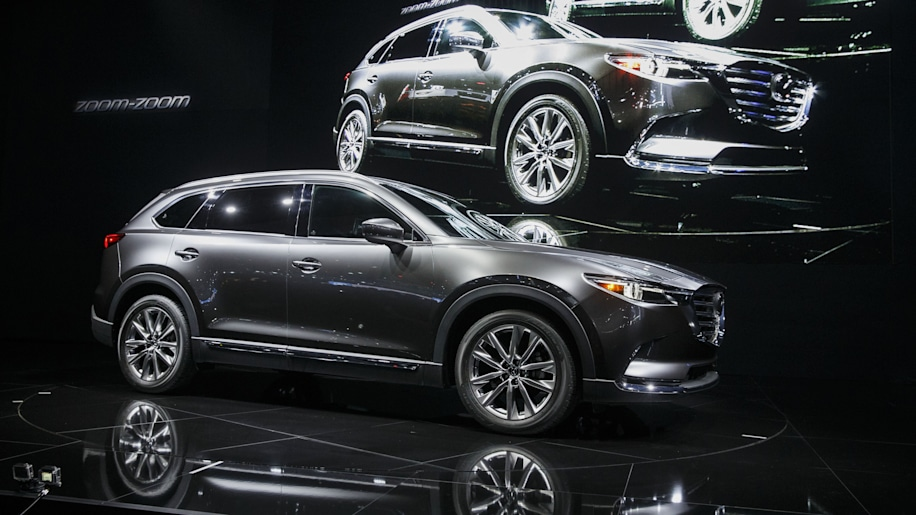 Mazda CX-9 at the 2015 LA Auto Show