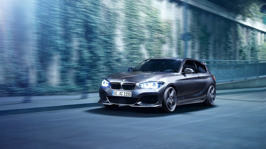 BMW 150d by AC Schnitzer moving front 3/4