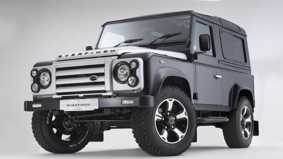 Overfinch Land Rover Defender 40th Anniversary Edition front 3/4