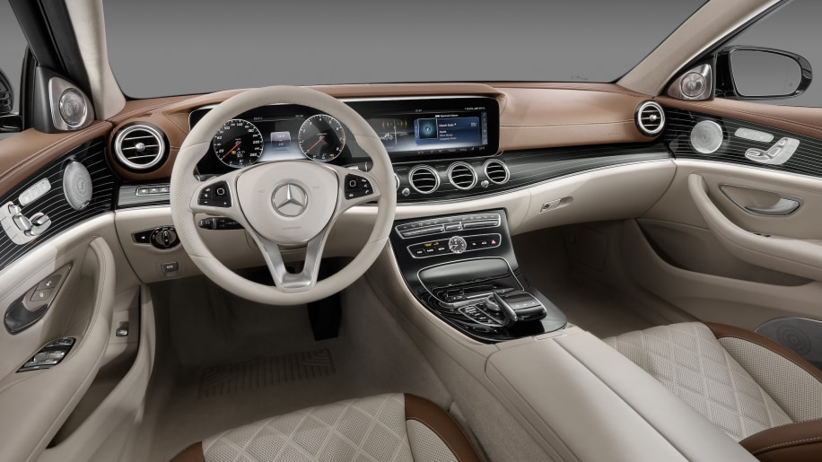 The 2017 Mercedes Benz E Cl Interior Is New Standard W