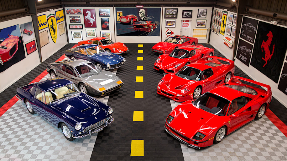 Tony Shooshani Ferrari Collection