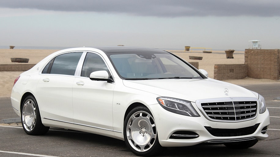2016 mercedes maybach s600 front 34 view