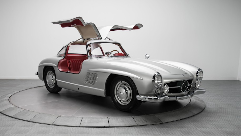 1954 mercedes benz 300sl with canadian roots sells for 1 for Mercedes benz gullwing