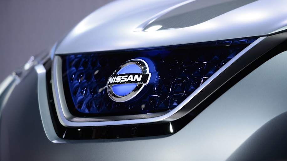 Nissan grille