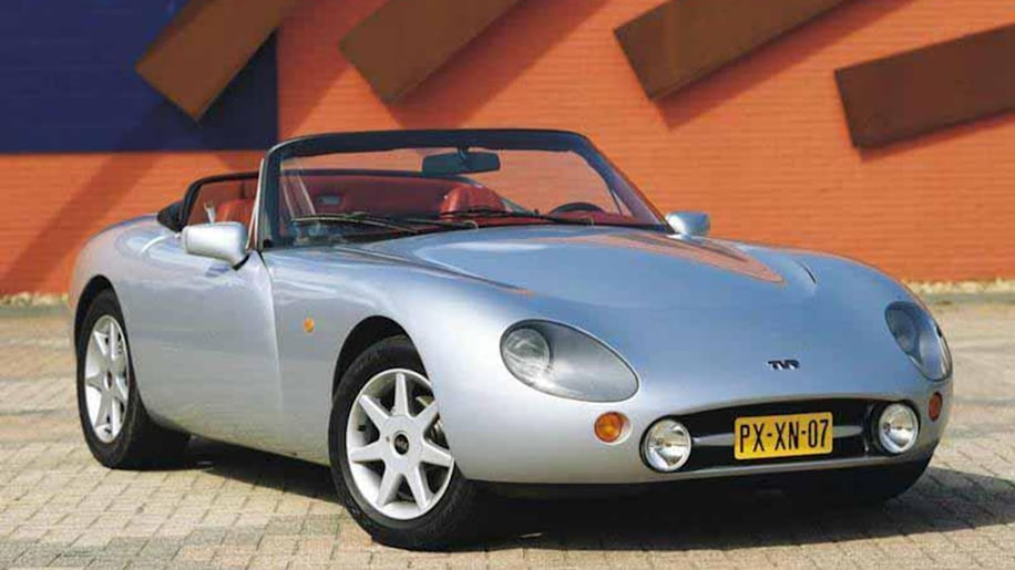 tvr griffith convertible 1991 great britain