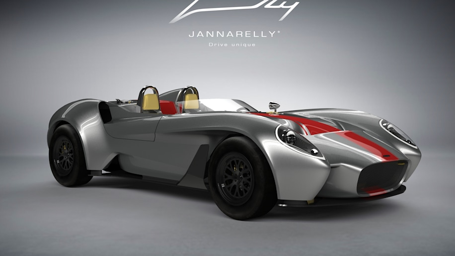 Jannarelly Design-1 red stripe front 3/4