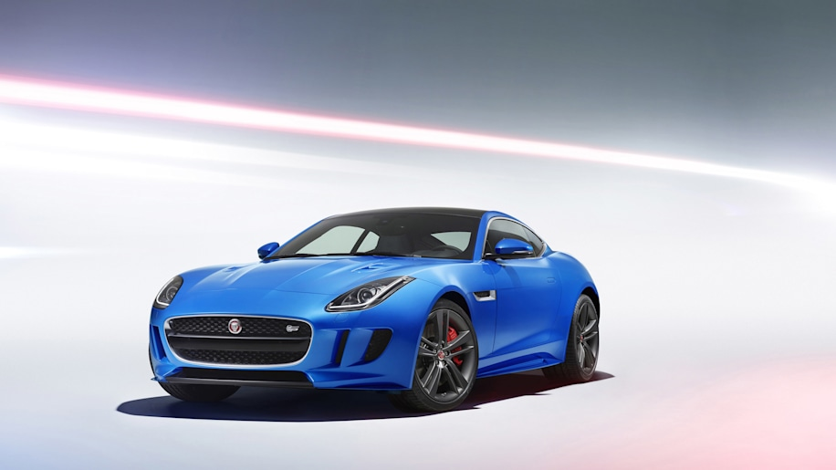 Jaguar F-Type British Design Edition front 3/4