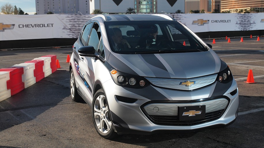 Chevy Bolt Prototype in Las Vegas during CES 2016.