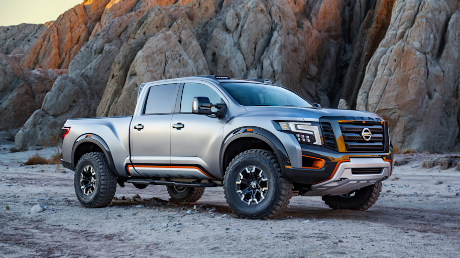 Nissan Titan Warrior concept front right far