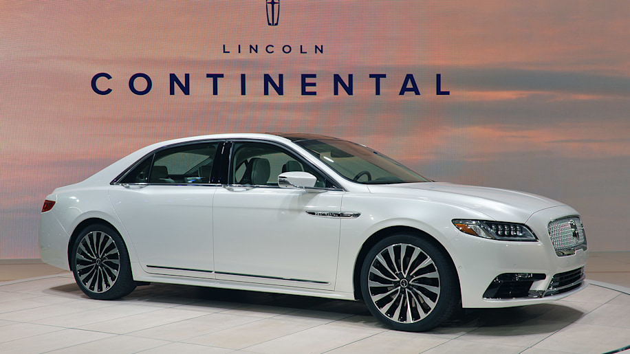 2017 Lincoln Continental: Detroit 2016 Photo Gallery - Autoblog