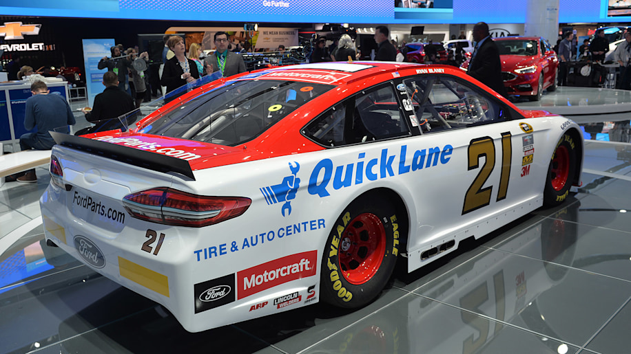 Ford Fusion Puts On Its Game Face For Nascar Autoblog