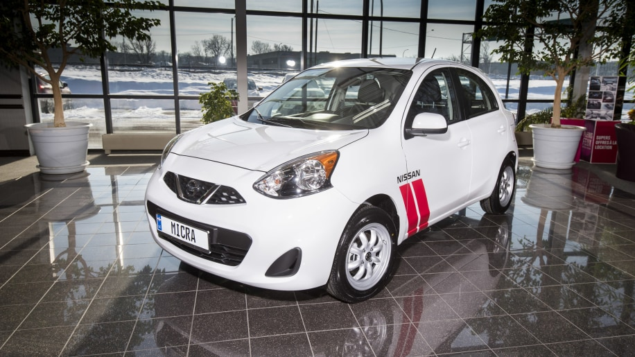 Nissan Micra Cup Limited Edition front 3/4