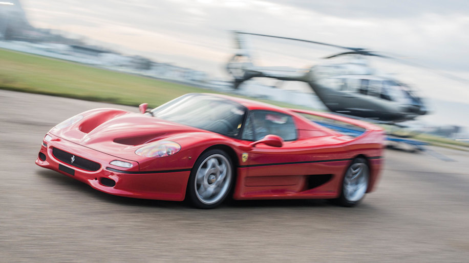 1997 Ferrari F50 moving