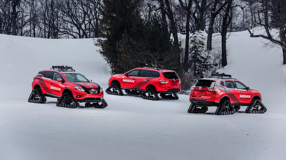 Nissan Winter Warrior Concepts group shot