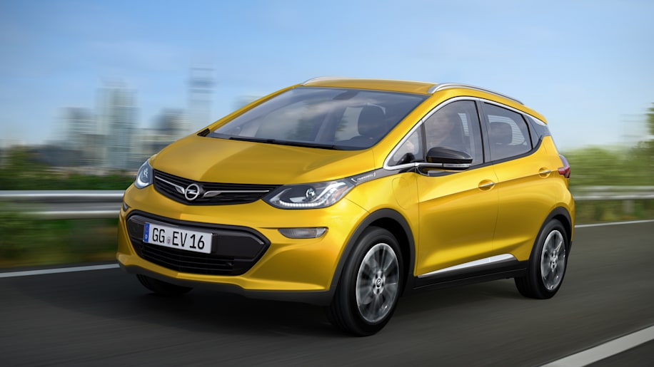 opel ampera-e front