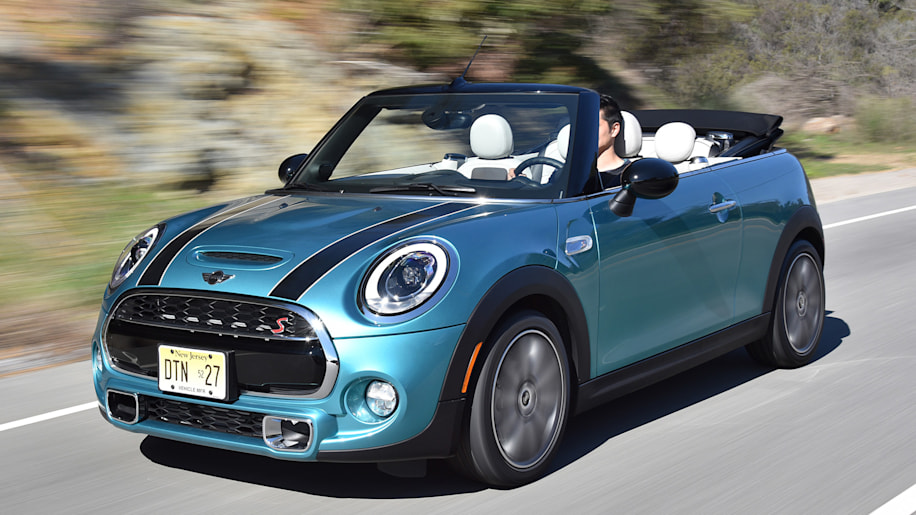 2016 Mini Cooper S Convertible driving