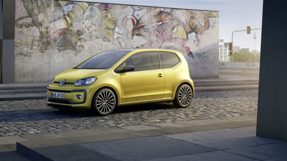 vw updates the up with more power sharper style autoblog. Black Bedroom Furniture Sets. Home Design Ideas