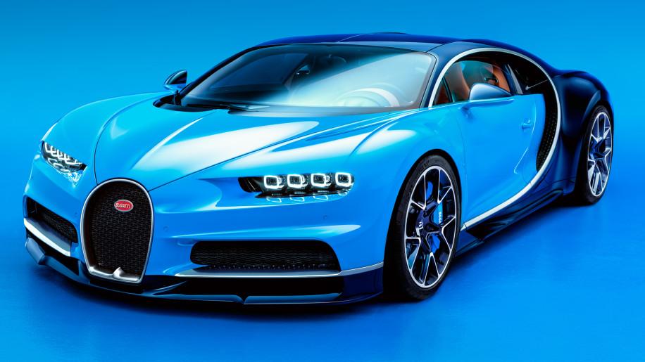 2017 Bugatti Chiron front lead