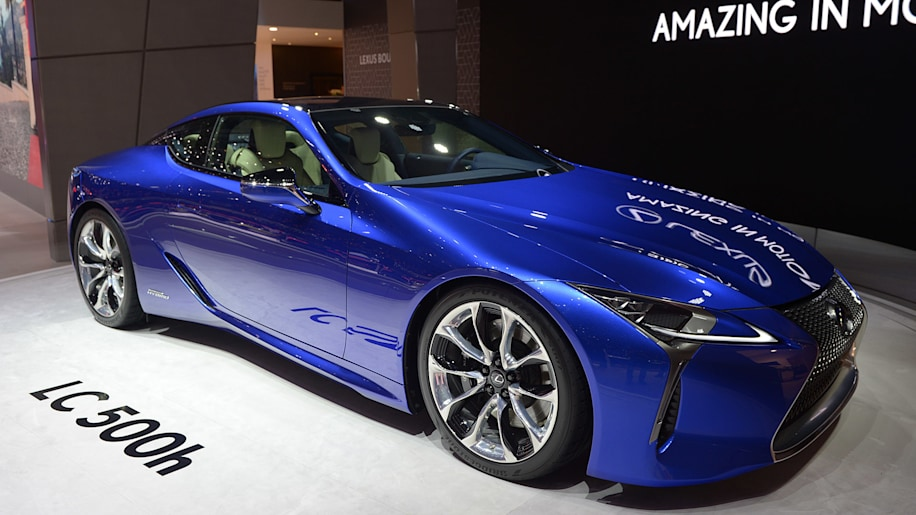 2018 Lexus Lc 500h Geneva 2016 Photo Gallery Autoblog