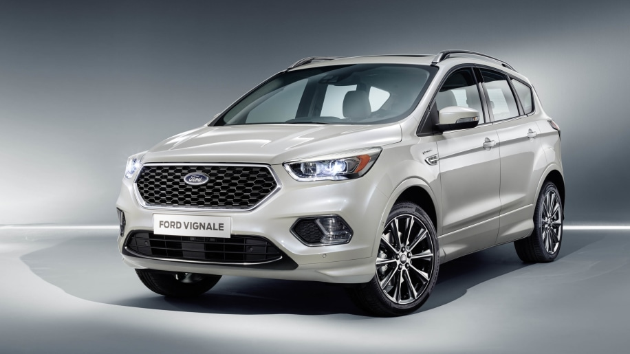 Ford Kuga Vignale Concept front 3/4