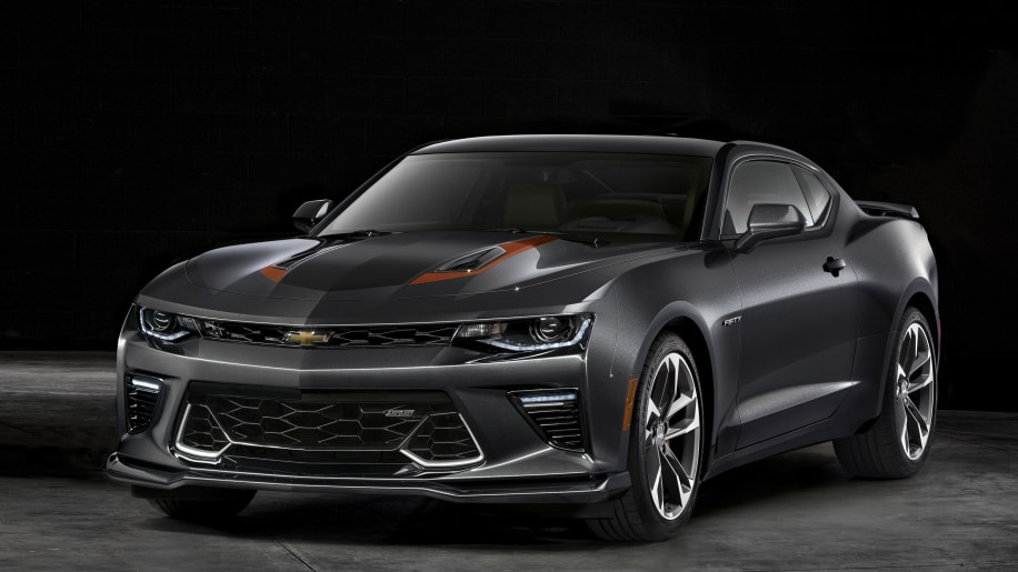 2017 chevy camaro 50th anniversary edition