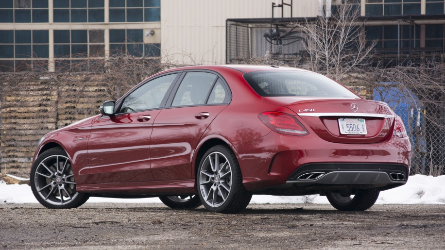 2016 mercedes benz c450 amg quick spin autoblog for Mercedes benz c450 amg review
