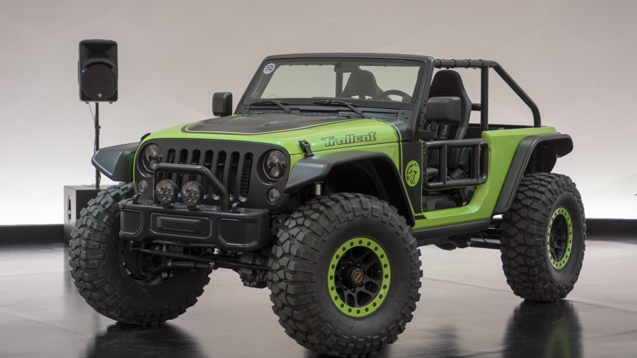 Jeep Wrangler With 6 Inch Lift >> Jeep Wrangler Trailcat Concept Photo Gallery - Autoblog