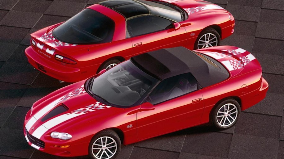 2002 Camaro Coupe and Convertible